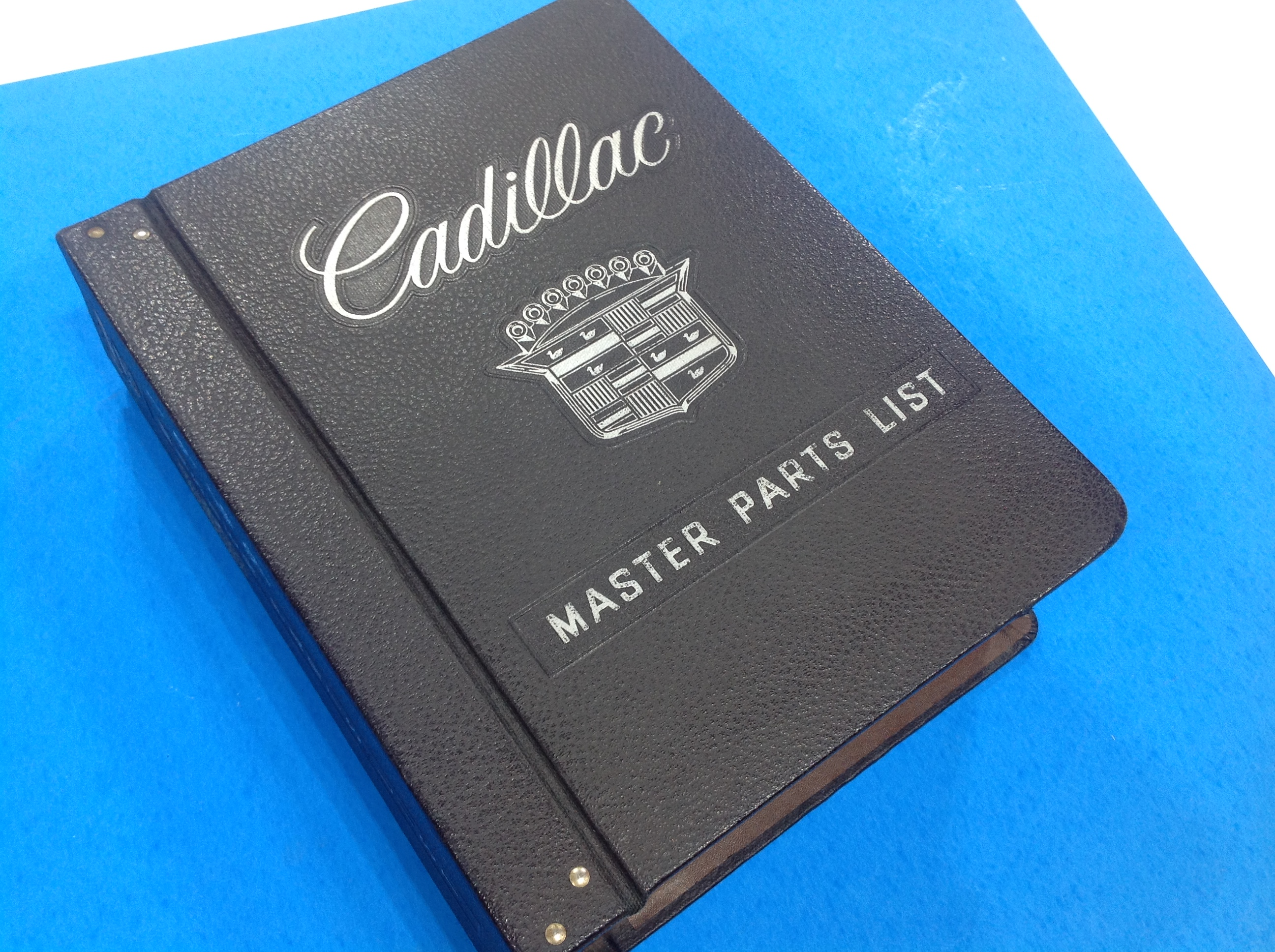1946 to 1969 – Cadillac Master Parts Book and Illustrations – SOLD