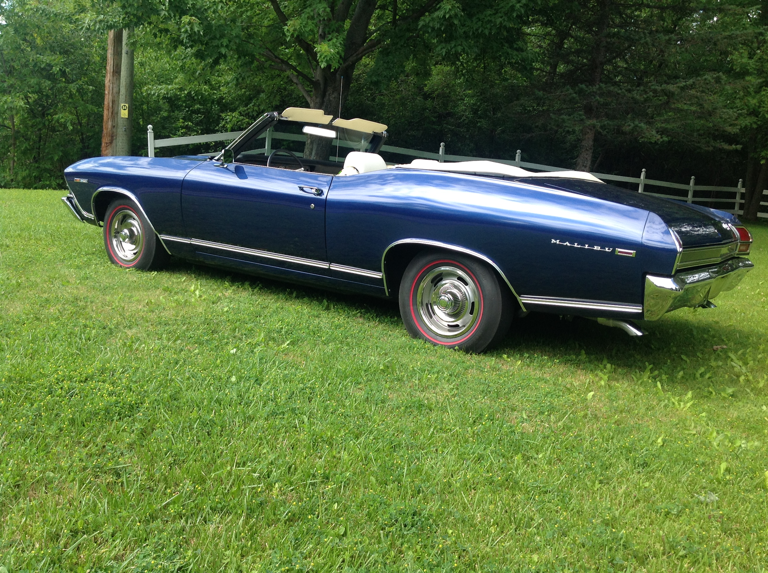1969 – CHEVELLE MALIBU 350 CONVERTIBLE – SOLD | NOS and RESTORED
